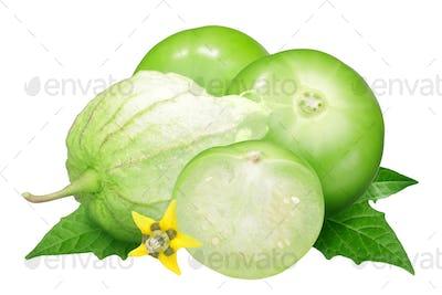 Tomatillo husk tomato, physalis