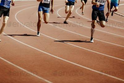 legs group runners sprinter men