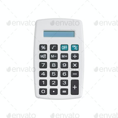 White calculator
