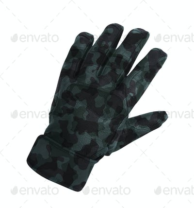 glove isolated on white background