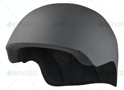 bike helmet isolated on white