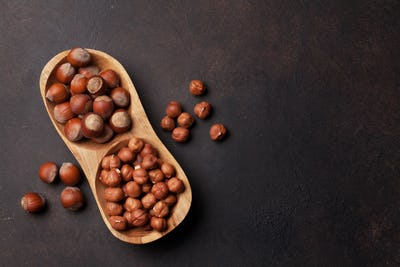 Hazelnut nuts