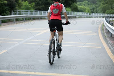 Cycling on road