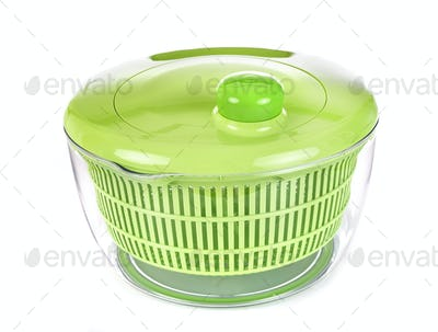 salad dryer in studio