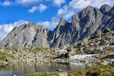 Mountain Peaks near Little Lake