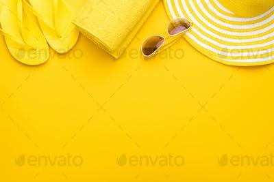 Yellow Beach Accessories