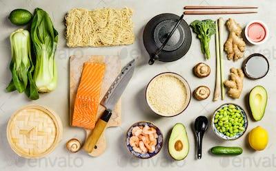 beautiful organic food