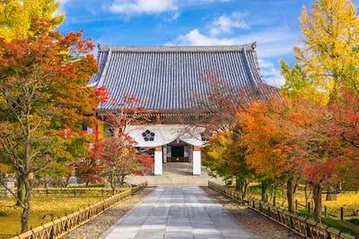Kyoto, Japan at Chishaku-in Temple