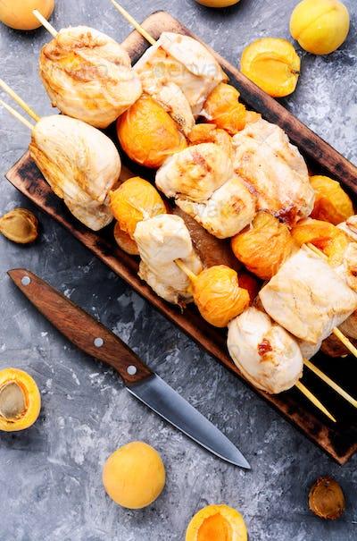 Tasty grilled turkey