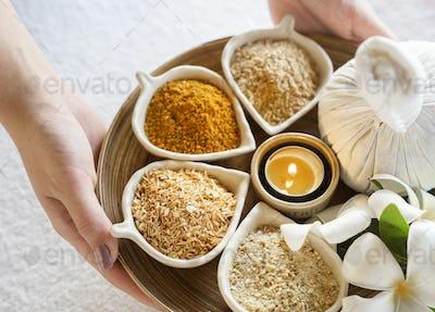 Massage herbs