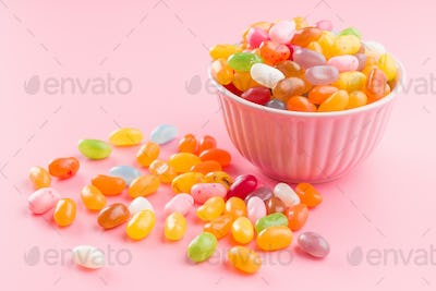 Sweet jelly beans.
