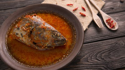 traditional indonesian dishes fish head gulai