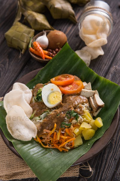 traditional indonesian culinary food