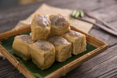 traditional indonesian dishes tahu bakso