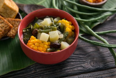 sayur asam traditional indonesian food