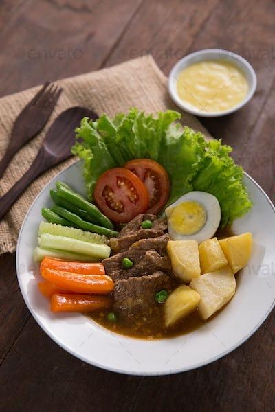selat solo. javanese traditional food