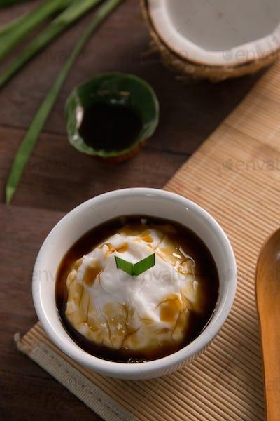 bubur sumsum. indonesian traditional culinary