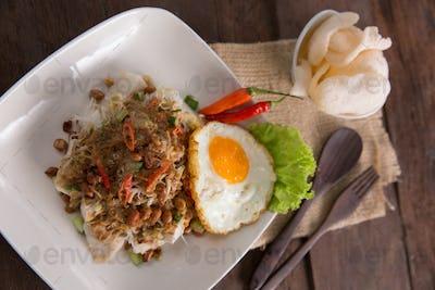 Ketoprak. Indonesia food