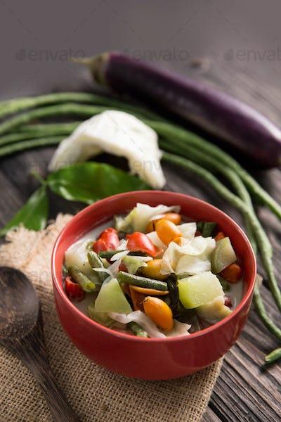 sayur lodeh indonesian cuisine