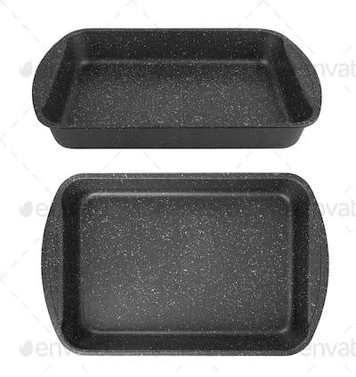baking tray isolated