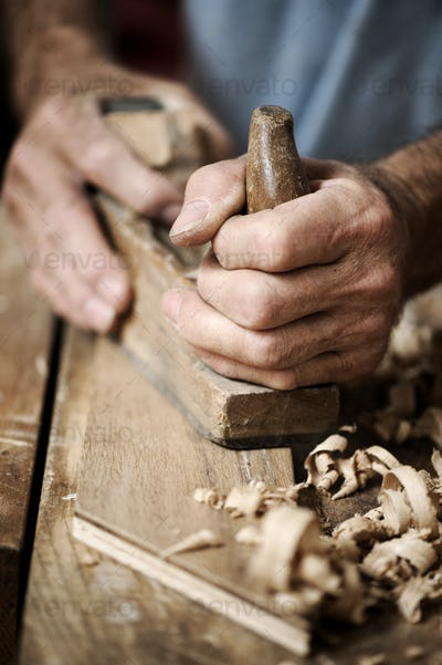 hands of a craftsman