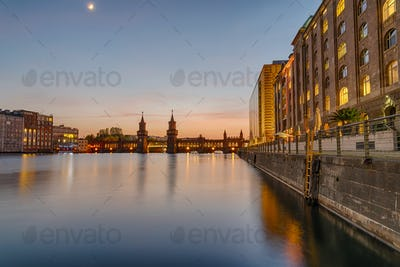 The banks of the river Spree in Berlin