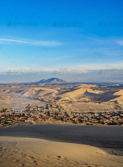 Huacachina in Peru