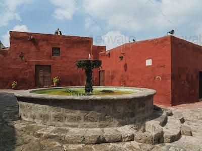Santa Catalina Monastery in Arequipa, Peru