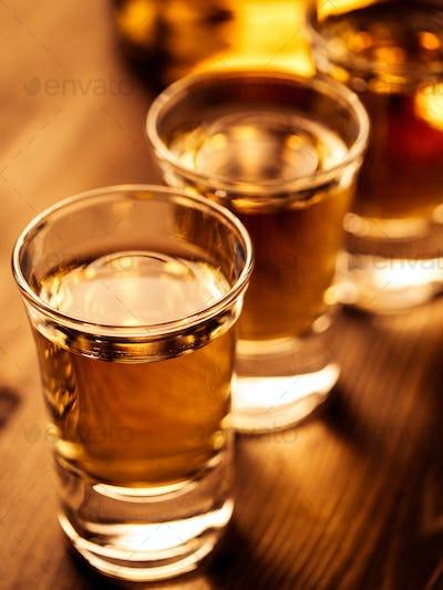 Three shots