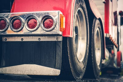 Semi Truck Rear Lights