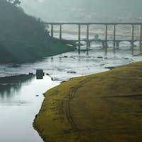 Two bridges of Portomarin