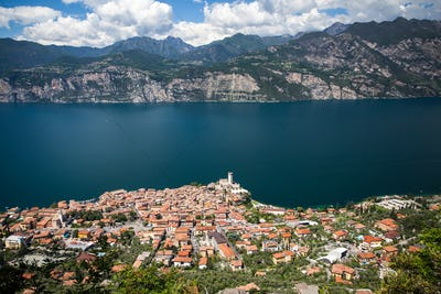 Ancient town of Malcesine