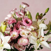 elegant floral composition
