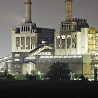 Old Fashioned Power Station