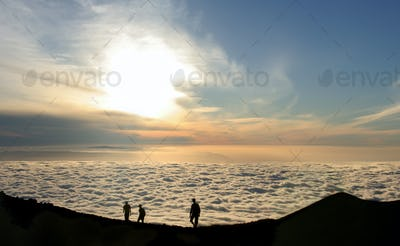 People Over The Clouds