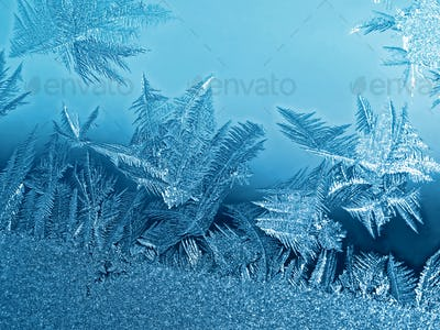 frozen glass