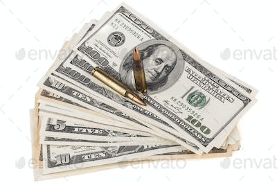 Dollars and Rifle Bullets