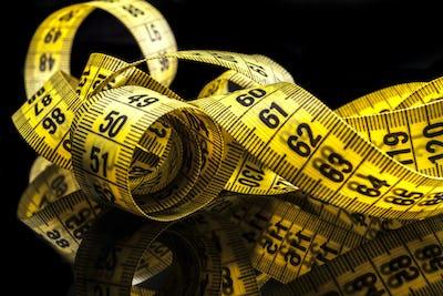 Yellow Tape Meter