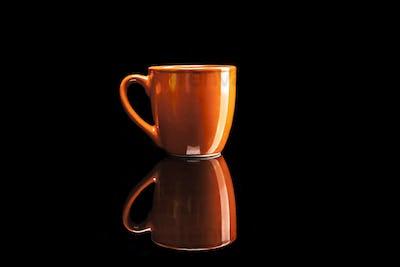 Simple Orange Cup
