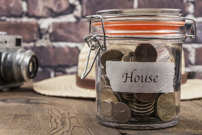 House Savings Jar