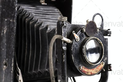 Old Camera Closeup