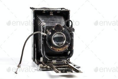 Camera Isolated o  White