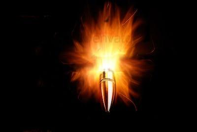 Bullet on Fire