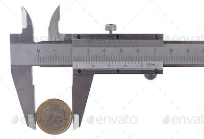 Measuring One Euro