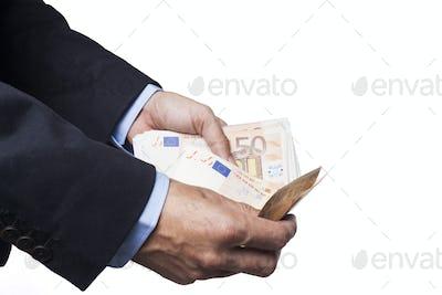 Counting Euros on White