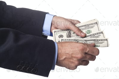 Hand And Dollars