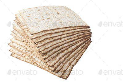 Matzot on White