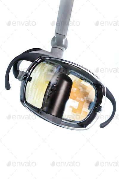 Isolated Dentist Lamp