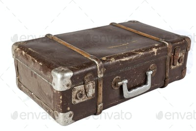 Isolated Suitcase