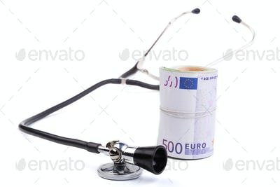 Stethoscope With Euro